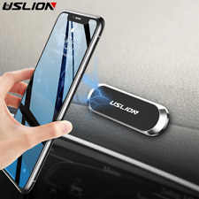 USLION Magnetic Car Phone Holder mini Strip Shape Stand Universal For iPhone Sam