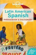 NEW - Lonely Planet Latin American Spanish Phrasebook & Dictionary