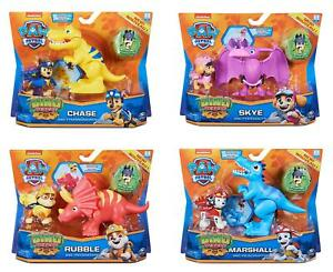 Paw Patrol - Dino Pups Rescue Hero & Dinosaur Action Figure Set *Choose one*