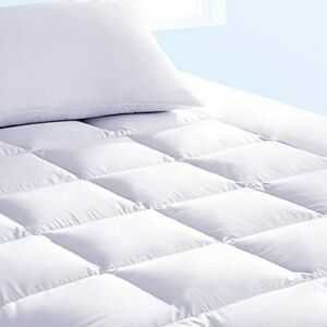 Pure Brands Full Mattress Topper and Pad Cover Extra Thick Luxury Down Altern...