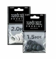 Guitar Picks Ernie Ball Prodigy Electric Acoustic 1.5mm Black P09342 6 pack