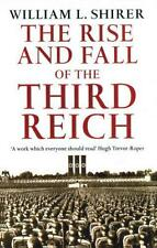 Rise And Fall Of The Third Reich by William L Shirer Paperback Book 97800994
