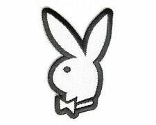 Bunny With Bow Playboy Sexy Embroidered Motorcycle NEW Biker Vest Patch PAT-3080