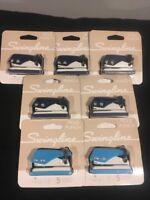 Swingline 1 Hole Mini Punch Lot Of Seven Free Shipping!