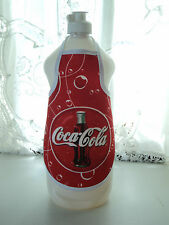 Coca Cola Bubble Kitchen Dish Soap Bottle Apron - Things go better with Coke