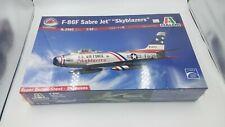 Italeri F-86F Sabre Jet Skyblazers Kit #2503 1:32 scale