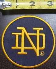Notre Dame Fighting Irish 3 inch Iron/Sew on Patch~Free Shipping~