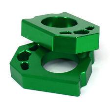 CNC Axle Block Chain Adjuster For KAWASAKI KX125/250 KX250/450F KLX450R Enduro