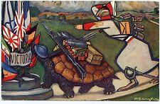 SANCHA. SéRIE SUR LA GRANDE  GUERRE CHEZ RAPHAEL TUCK. WAR. ARTIST SIGNED