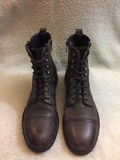diesel D-Kallien Men's Boots Size 42/8.5 Black Gray