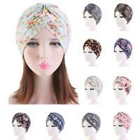 Damen Turban Hijab Chemo Mütze Schlafhaube Muslim Kopftuch Kopfbedeckung Cap Hat
