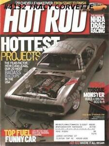 September 2004 Hot Rod Tony Pedregon Top Fuel Badass El Camino GTO