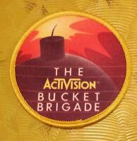~ Atari 5200 Video Game Vintage 80's Activision Patch Kaboom! Bucket Brigade ~