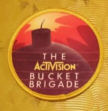 ~ Atari 5200 Video Game Vintage 80's Activision Patch Kaboom! Bucket Brigade ~