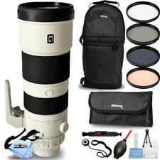 Sony FE 200-600mm f/5.6-6.3 G OSS Lens SEL200600G + Filter Kit + Backpack Bundle
