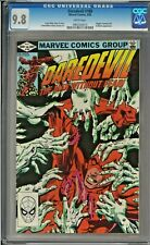 Daredevil #180 CGC 9.8 White Pages Electra Kingpin app Frank Miller art