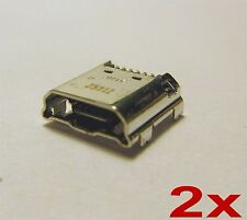 2 x Micro USB Charging Port Charger For Samsung Galaxy Tab 3 Lite SM-T217S T217A