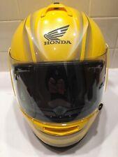 Arai Honda Vector Helmet Yellow Size Small