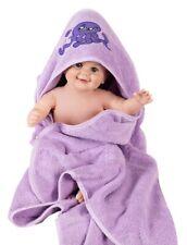 Asciugamano accappatoio per bambini o neonati con cappuccio e guanto in spugna