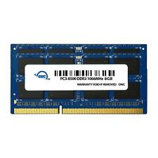 OWC 16GB 2 x 8GB PC8500 DDR3 Non ECC 1066 MHz 204 pin SO-DIMM Memory Module f...