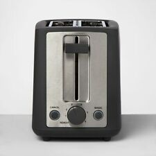 2 Slice Extra Wide Slot Stainless Steel Toaster - Made By Design