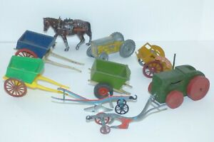 OS22 Britains , Charbens and unknown cart bits for spares / repairs