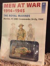 Del Prado Commando Royal Marines UK 1943 Osprey Men at War 1914-45 Royal Marines