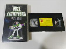 BUZZ LIGHTYEAR LA PELICULA TOY STORY DISNEY PIXAR - VHS CINTA TAPE CASTELLANO &