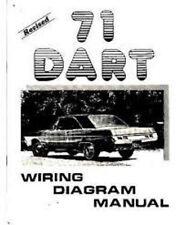 1971 Dodge Dart & Demon Wiring Diagram Manual