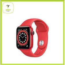 Apple Watch 6 44mm M00M3 Red Aluminum Red Sport Band Jeptall
