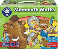Orchard Toys MAMMOTH MATHS Educational Toy Game BN