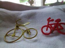 Unusual Vintage Jewelry Bicycle  Pins  Lot of 2