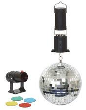 """6"""" (125 mm) Espejo Baile Fiesta Set Luz Disco Con Motor Y 4 filtros de color"""