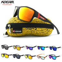 Kdeam Unisex Polarized Sunglasses Fishing Outdoor Sport Drivng Cycling Glasses