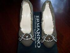Scarpe Ermanno Scervino decoltè colore verde,numero 36 Scervino women shoes