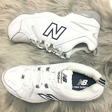 New Balance Womens WX608v4w White/Navy Running Shoes Size 10B NWOB ($78)