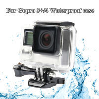 45M Underwater Waterproof Diving Housing Case For Go Pro Hero4 5 Session CamerNJ