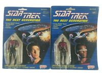 Star Trek Galoob the next generation 1988 action Figures William Riker La Forge