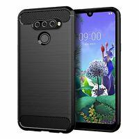 Lg Q60 Étui Coque Téléphone Portable Protection Pochette de Pare-Chocs Noir
