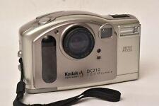 Vintage digital Kodak DC210, 1MP, 2X, compact flash card, case, uses AA batts