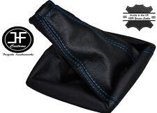 Blue stitch pour mercedes sprinter van manual 2001-2005 soufflet en cuir véritable