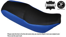 R BLUE & BLACK CUSTOM FITS LIFAN SKYGO LF 125-30 DUAL LEATHER SEAT COVER