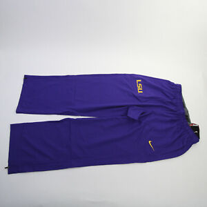 LSU Tigers Nike Dri-Fit Athletic Pants Men's Purple New with Tags