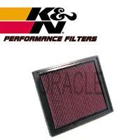 K&N HIGH FLOW AIR FILTER 33-2337 FOR SAAB 9-3 (YS3F) 1.9 TID 150 BHP 2004-