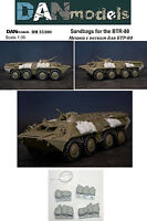 Dan Models 35300 - 1/35 Sandbags for the BTR-80 Set №2 on a Scale New in Box