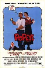POPEYE - 1980 - original 27x41 movie poster - ROBIN WILLIAMS, SHELLEY DUVALL