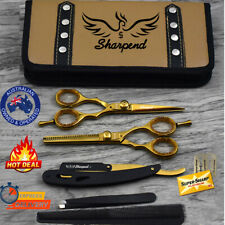 Professional Barber Hairdressing Scissors Hair Cutting Thinning Shears Set/kit