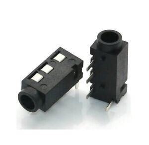 CONNETTORE PRESA JACK 3.5mm STEREO 4 pin CUFFIE femmina 3,5 mm audio cavo PJ-32A