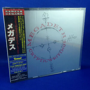 MEGADETH: Cryptic Writings & Live Trax II (ULTRA RARE OUT OF PRINT 1998 JAPANESE
