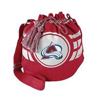 Littlearth NHL Colorado Avalanche Ripple Drawstring Bucket Bag